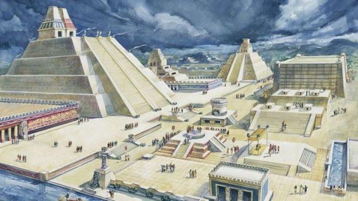 "La gran Tenochtitlan, ""la Venecia del Nuevo Mundo"" que deslumbró Cortés cuando llegó a México"