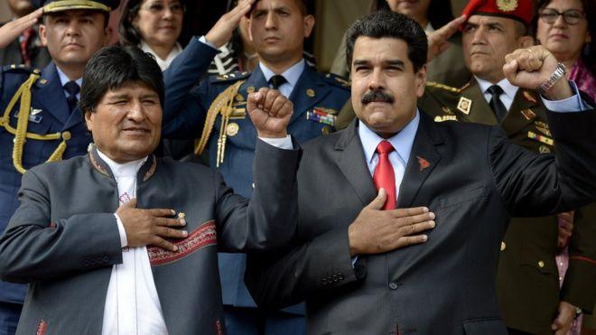 Cómo puede afectar a Nicolás Maduro la renuncia de Evo Morales en Bolivia
