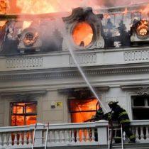 Superintendente de bomberos de Santiago: