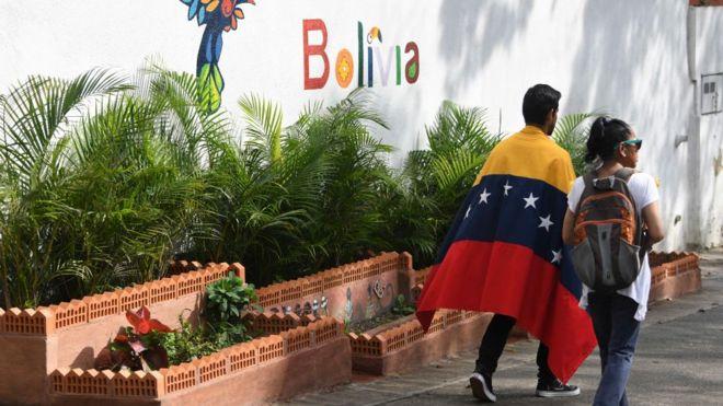 Por qué en Venezuela se protesta ahora menos que en otros países de América Latina