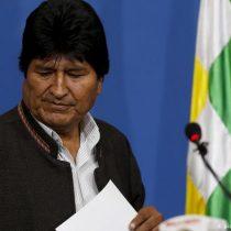 Fuerzas Armadas y Policía sugieren a Evo Morales que renuncie para pacificar Bolivia
