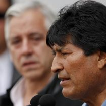 Evo Morales llega a México tras recibir asilo político