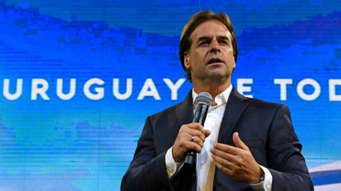 El derechista Luis Lacalle Pou es el nuevo presidente electo de Uruguay