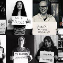 """""""Yo mujer quiero"""": la acción social que retrata mujeres expondrá imágenes con sus demandas en el centro de Santiago"""