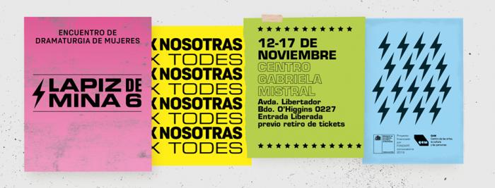 Festival Lápiz de Mina: un encuentro de dramaturgia de mujeres