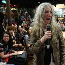 Patti Smith a los manifestantes en Chile: