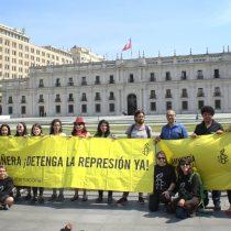 Amnistía Internacional entrega más de 20.000 firmas que exigen fin a la violencia policial