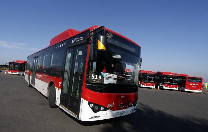Intendencia Metropolitana interpuso seis querellas por quema de 17 micros de Red