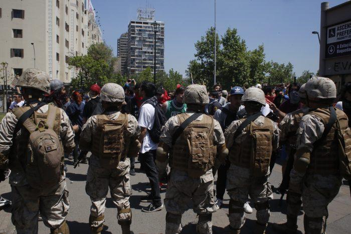 Militar fue separado de sus funciones por cometer desórdenes en Puente Alto - El Mostrador