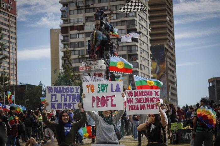 Convocan a otra masiva jornada de manifestaciones en Plaza Italia para este lunes