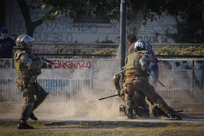 CIDH condenó uso excesivo de la fuerza de Carabineros en las siete semanas del estallido social