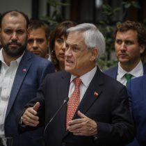 """Piñera anuncia plan pro pymes y asegura que """"lo que han hecho estos violentistas no tiene perdón de Dios"""""""