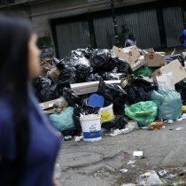 Tras no llegar a acuerdo con el Gobierno, recolectores de basura de la región Metropolitana inician paro indefinido