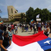 Realizan marchas a lo largo del país para conmemorar el primer aniversario de la muerte de Camilo Catrillanca