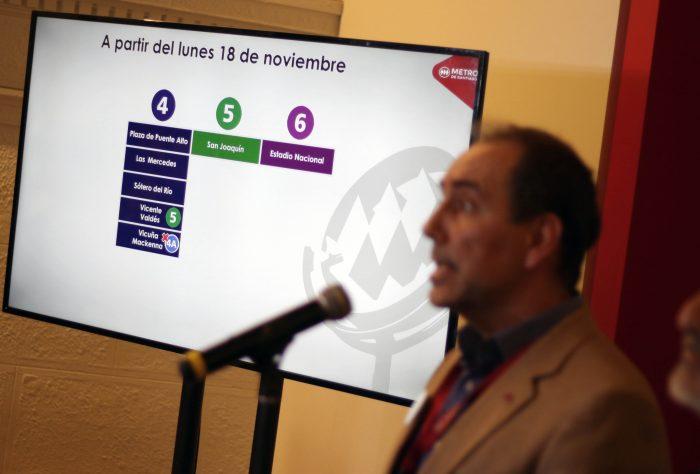 Metro anuncia reapertura de Plaza de Puente Alto y suma nuevas estaciones en la línea 3, 4 y 5