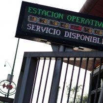 PDI identificó a otras 14 personas involucradas en destrozos al Metro de Santiago