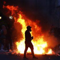 Balance de Carabineros tras manifestaciones del jueves: