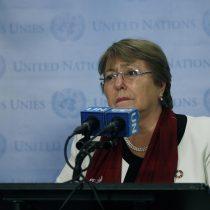 Bachelet: Se ha hecho justicia en caso Weinstein por valentía de las testigos