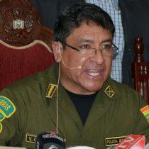 Renuncia el comandante nacional de la Policía Boliviana