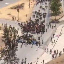 Comienza masiva convocatoria en Plaza Italia en jornada 38 de movilizaciones