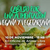 Convocan a cabildo abierto por una alimentación vegana y vegetariana