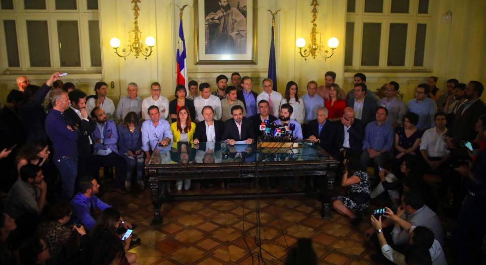 La instalación del poder constituyente para una nueva Constitución - El Mostrador