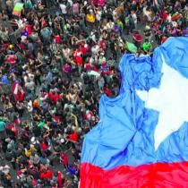 Chilenos en Estados Unidos en apoyo al pueblo de Chile