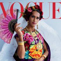 Histórico: por primera vez Vogue publica en portada a muxe transgénero