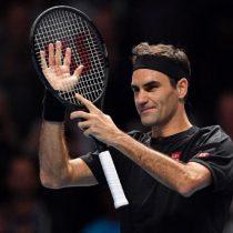 Roger Federer ya está en Chile y se prepara para el duelo de esta noche en el Movistar Arena