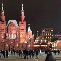 Moscú: imponente incluso, a varios metros bajo tierra