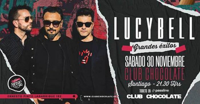 Concierto Lucybell en Club Chocolate