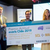 Chileno participará en concurso de innovación en España con emprendimiento de inclusión