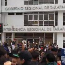 A todo ritmo: inusual baile masivo de estudiantes de Tarapacá en favor de las demandas sociales