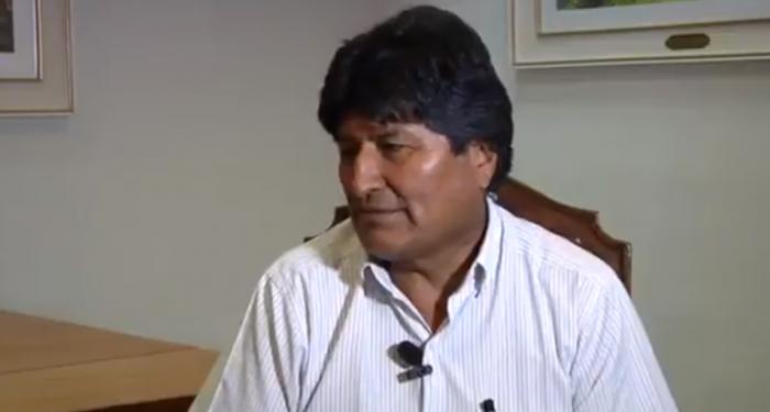 La primera entrevista de Evo Morales en México: