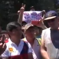 """""""Soy sensible a su problema"""": el diálogo entre el ministro Briones y los camioneros en medio del corte a la ruta 68"""