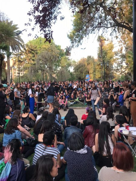 Mujeres se organizan a través de cabildo feminista que reunió a más de 800 participantes