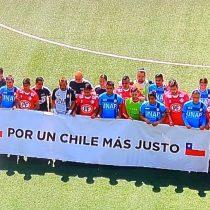 Reanudación del Torneo Nacional: futbolistas de La Calera e Iquique realizaron minuto de silencio por las víctimas durante el estallido social
