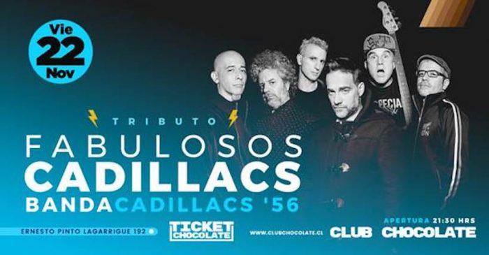 """""""Cadillacs '56"""", banda tributo a los Fabulosos Cadillacs en Club Chocolate"""