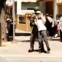 Carabineros inicia sumario contra funcionario que usó a menor de edad como escudo humano en Rancagua