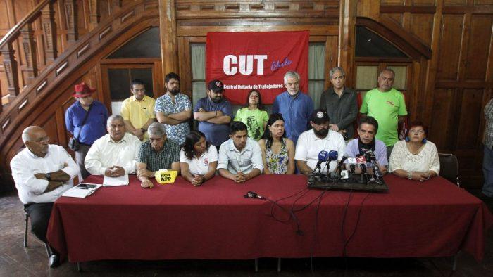 Mesa de Unidad Social llama a paro sectorial y huelga general para este lunes y martes