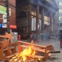Autoridades condenan ataque a catedral de Puerto Montt tras serios destrozos