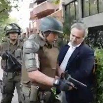 El trato de Carabineros a un civil armado que desata críticas en redes sociales