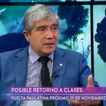 Rector Carlos Saavedra se refiere al rol que cumple la UdeC en el movimiento social