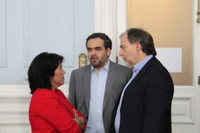 """""""Hoy día el Presidente es el problema"""": senadores de oposición emplazan a Piñera para dar una solución política a la crisis"""