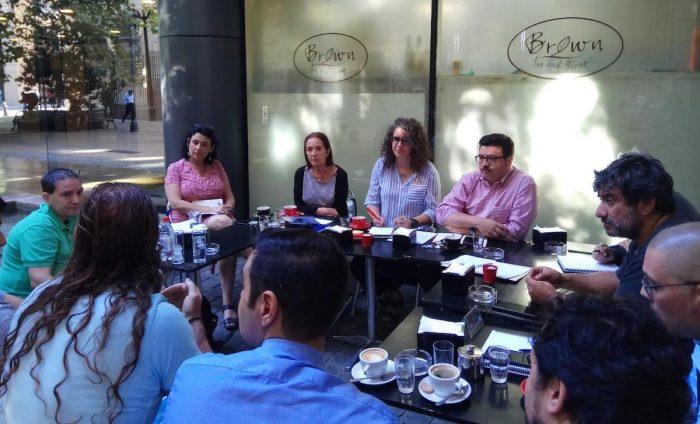 Restaurantes de Santiago Centro solicitan apoyo municipal