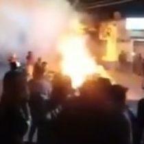 Fiscalía de Arica confirma hallazgo de un cuerpo en supermercado Líder incendiado