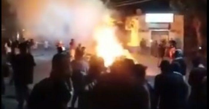 Poder Judicial informa sobre el funcionamiento del Juzgado de Colina incendiado anoche