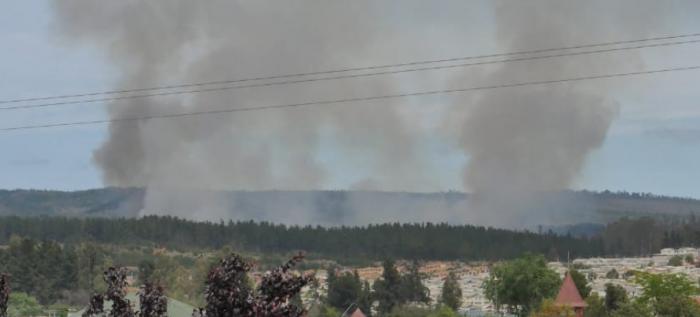 Onemi decreta Alerta Amarilla en Valparaíso por incendio forestal