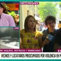 """""""Oye pueblo, ayúdame"""": mujer pide colaboración a joven que interrumpe abruptamente entrevista en matinal televisivo"""