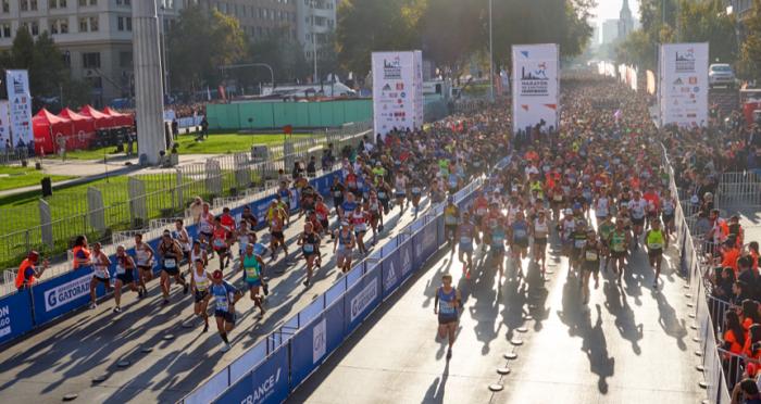 Nadie fuera: Maratón de Santiago 2020 incluye programas para personas con discapacidad